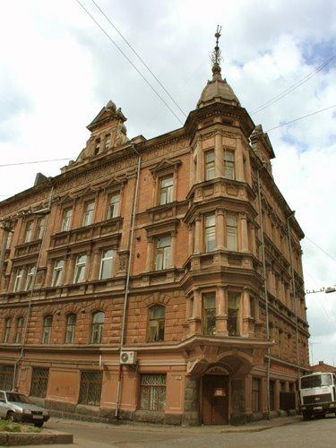 House of merchant Buttenhoff on Krepostnaya street, Выборг