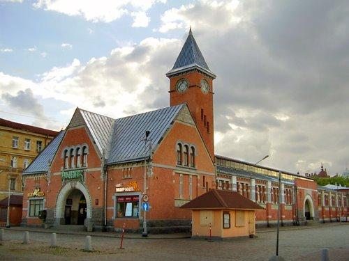 Market building, Выборг