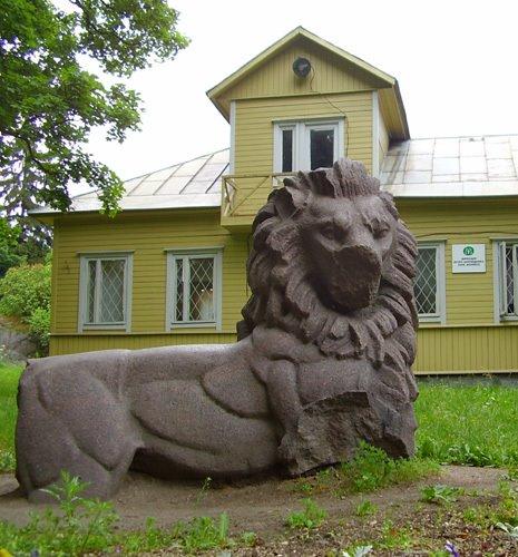 Lion of Viipuri in Monrepo park, Выборг