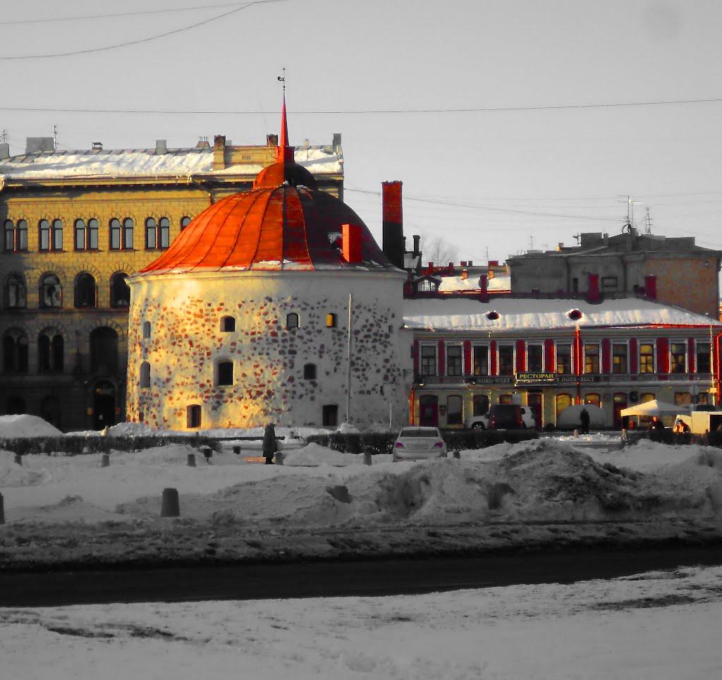 ВЫБОРГ.  Круглая башня., Выборг