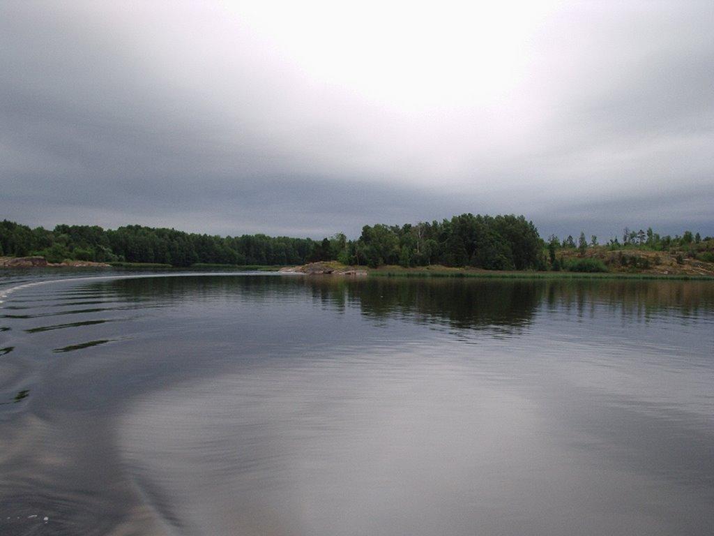 Near Vysotsk, Высоцк