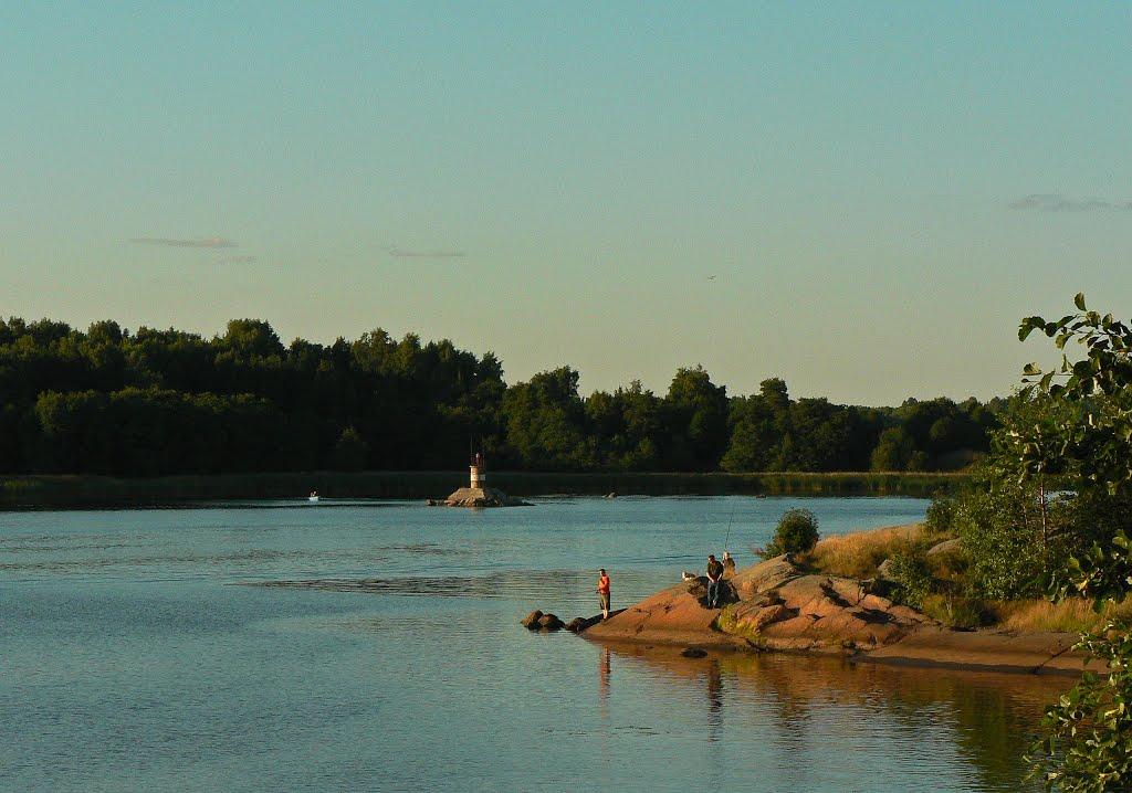 Пролив Транзунд, Высоцк