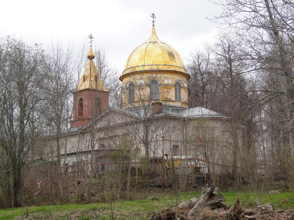 Church of the Transfiguration, Дружная Горка