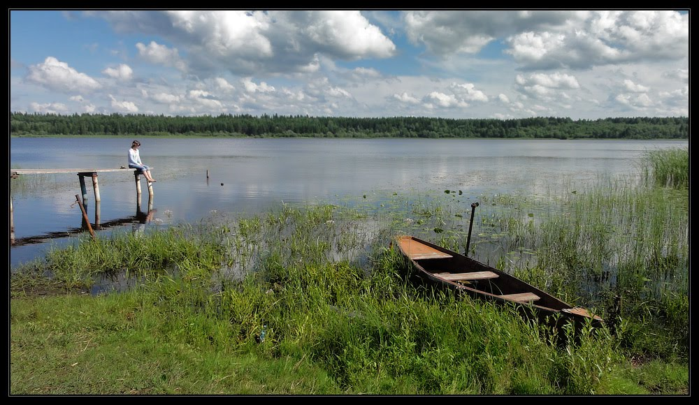Орлино. Пристань. Июль 2011, Дружная Горка