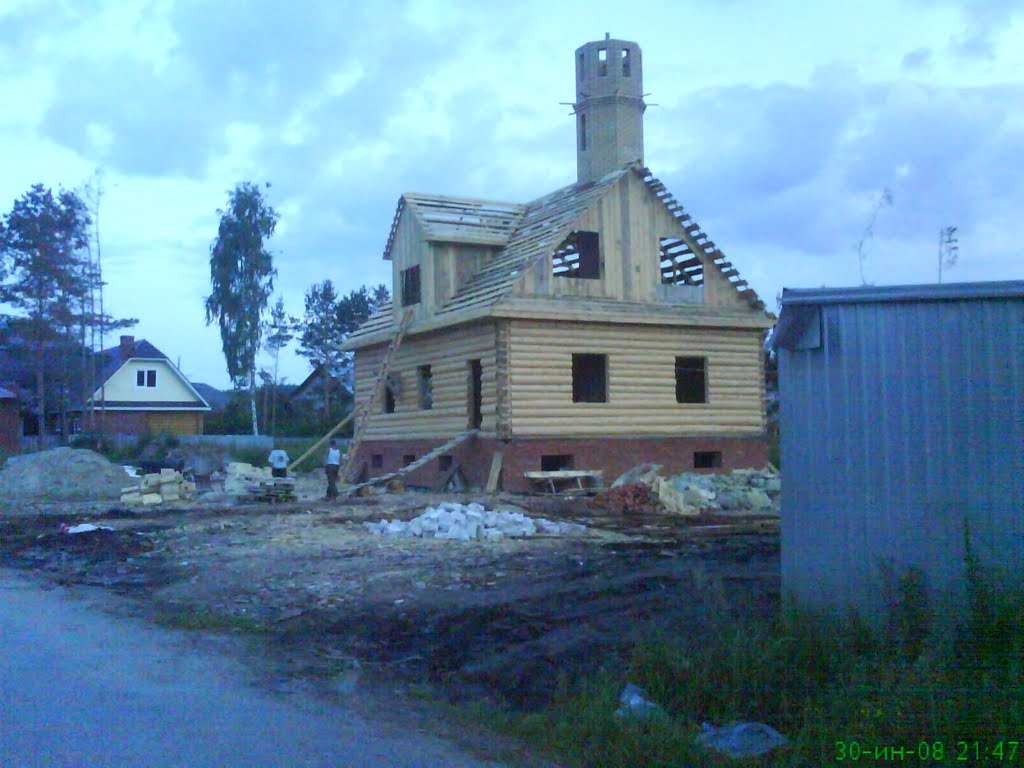 Постройка мечети=), Дубровка