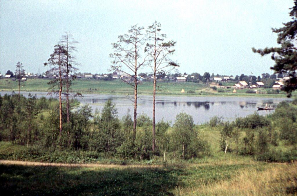 У Розовой горки. 1977 г, Ефимовский