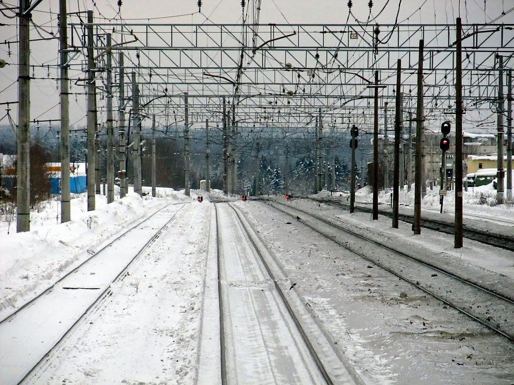 railway station Efimovskaya, Ефимовский