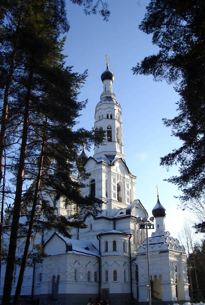 Церковь в Зеленогорске..., Зеленогорск
