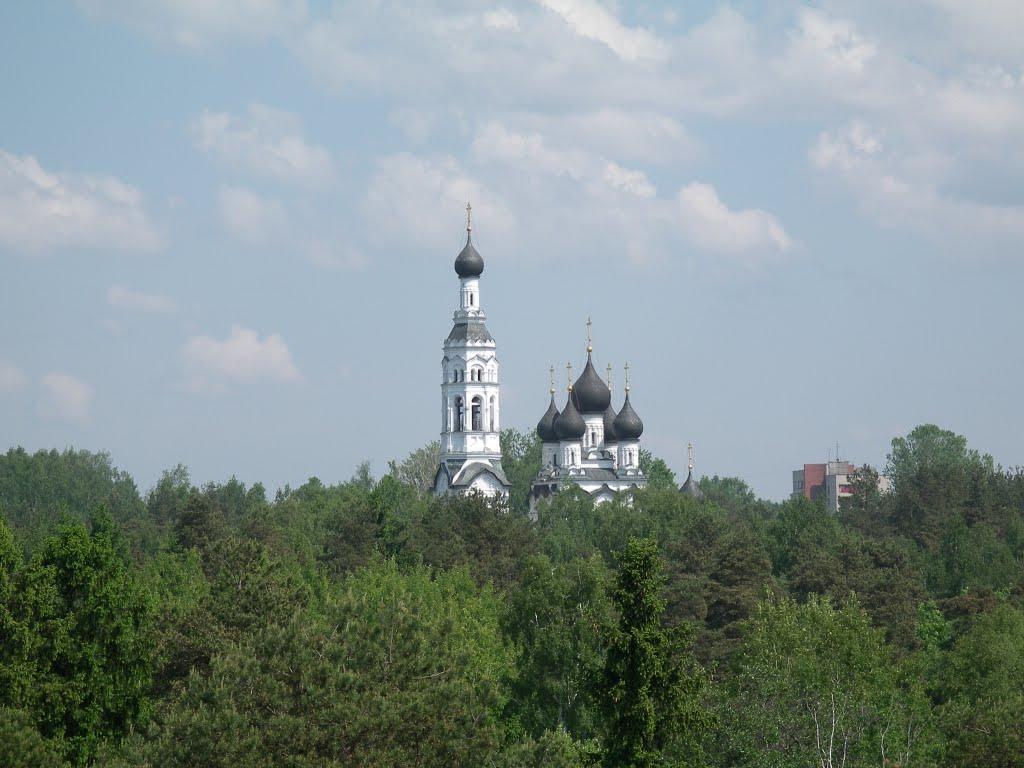 ЗЕЛЕНОГОРСК. Це́рковь Каза́нской ико́ны Бо́жией Ма́тери. / Zelenogorsk. Kazan church., Зеленогорск