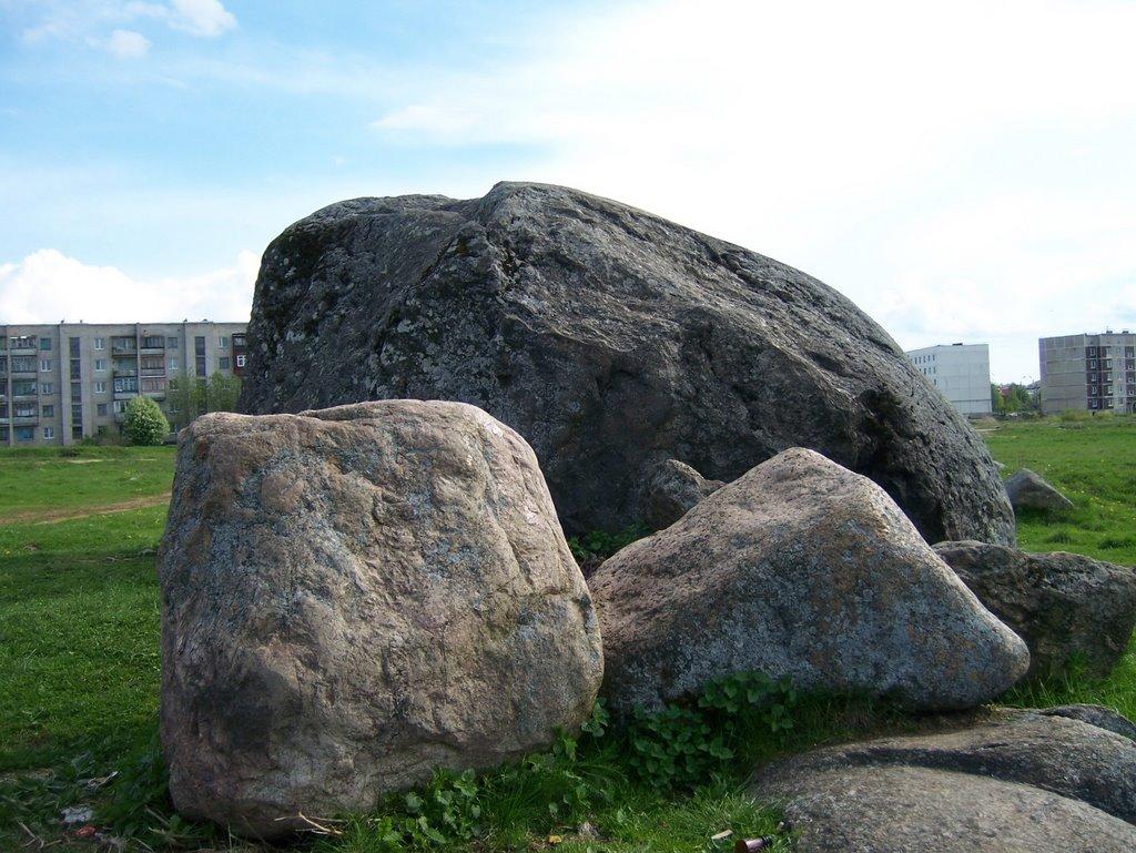 Камень  (Ивангород  21.05.2009г), Ивангород