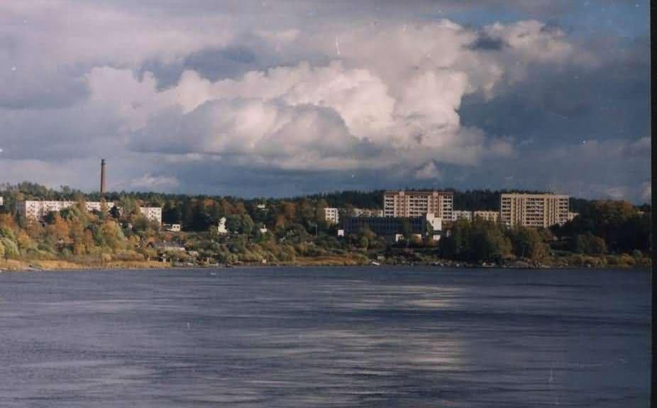 Вид на город, Каменногорск