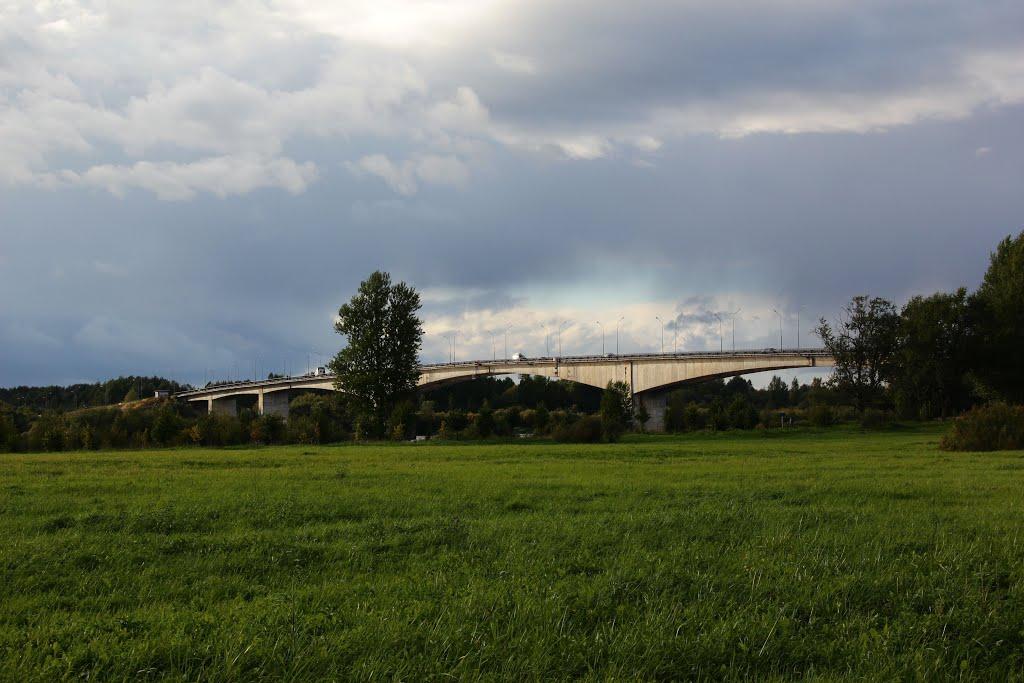 Мост через р. Волхов, Кириши
