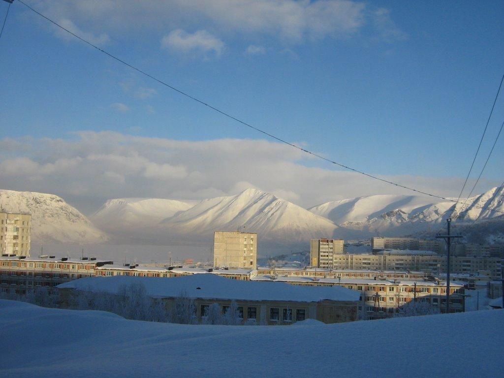 Кировск зима 2007, Кировск