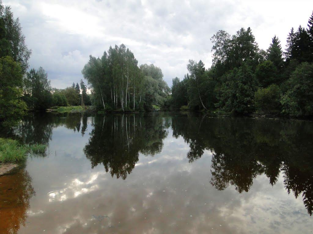 река Кобринка, Кобринское