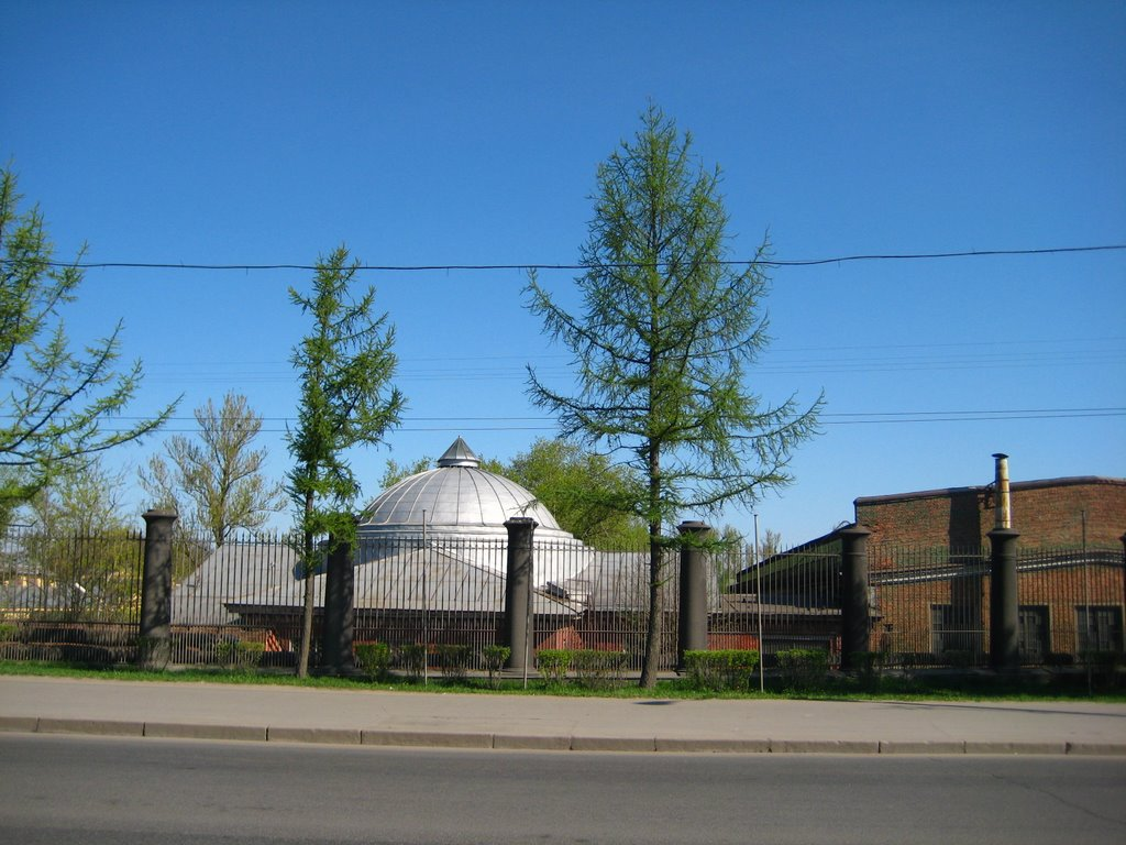 Old plant, Колпино