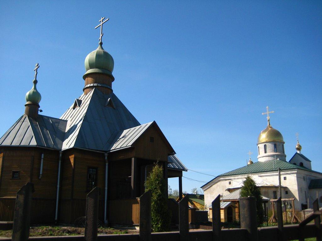 Two churches, Колпино
