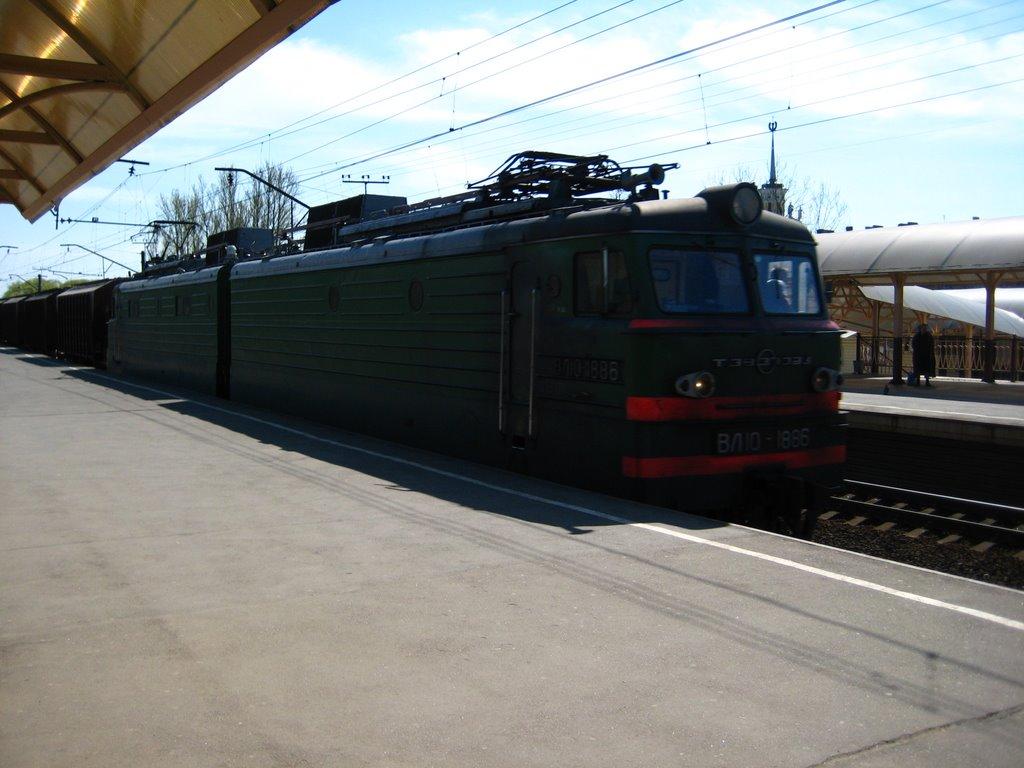 Goods train, Колпино