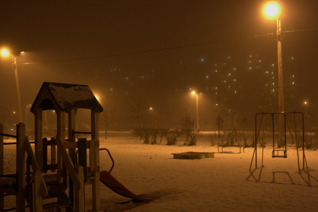 Ночной туман, Колпино