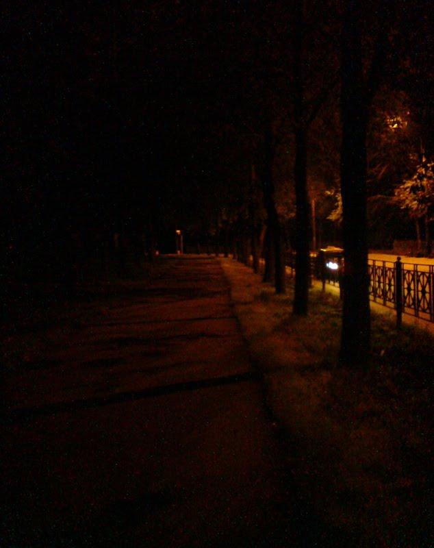 Тверская улица поздней ночью, Колпино