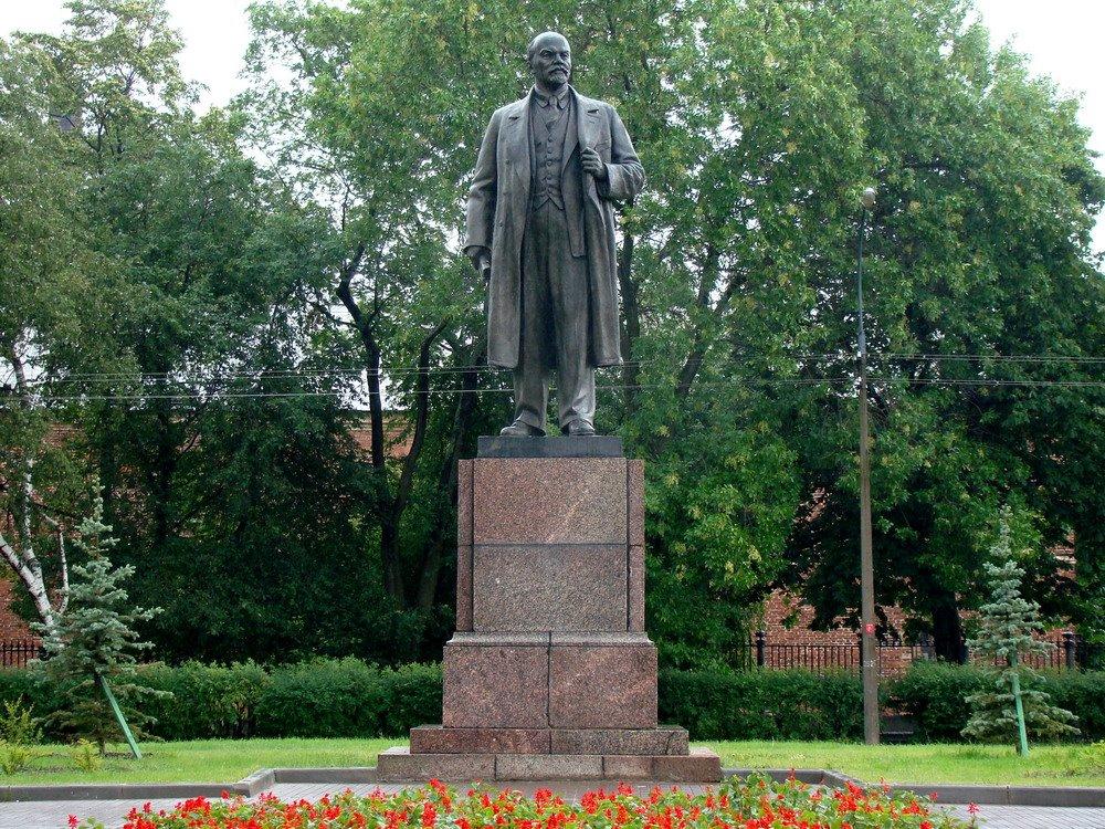 Kronshtadt. Monument to Lenin, Кронштадт