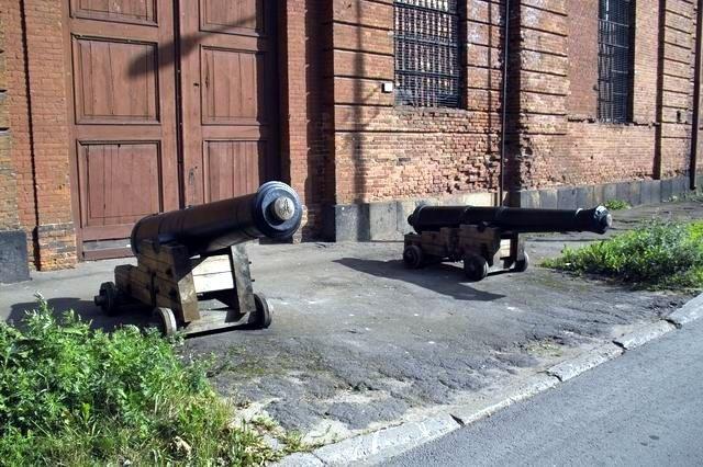 Кронштадт. Пушки у Арсенала, Кронштадт