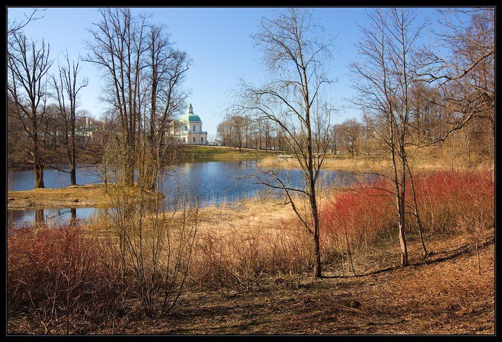 Парк в апреле, 2011, Ломоносов
