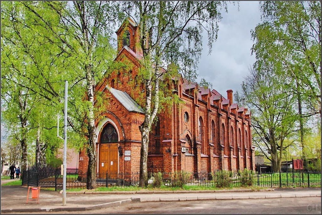 Луга. Католический Храм Св. Николая, Луга
