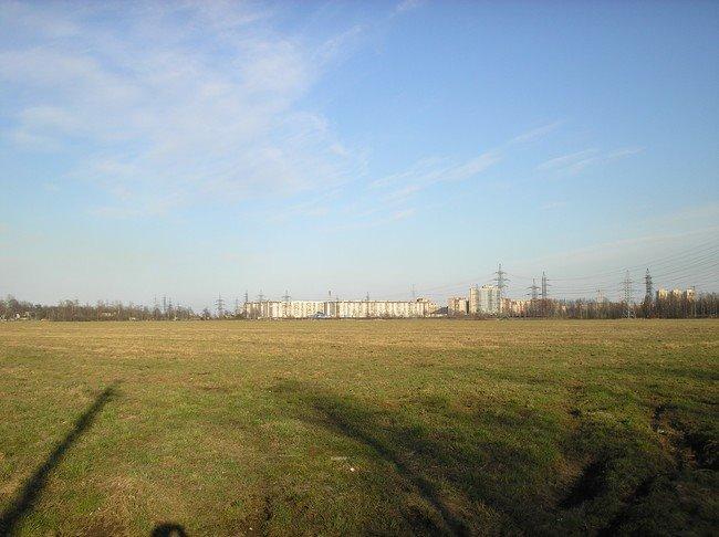Вид на дома (Выборгское шоссе/Суздальский проспект), Парголово