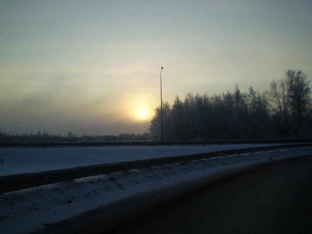 КАД СПб, Парголово