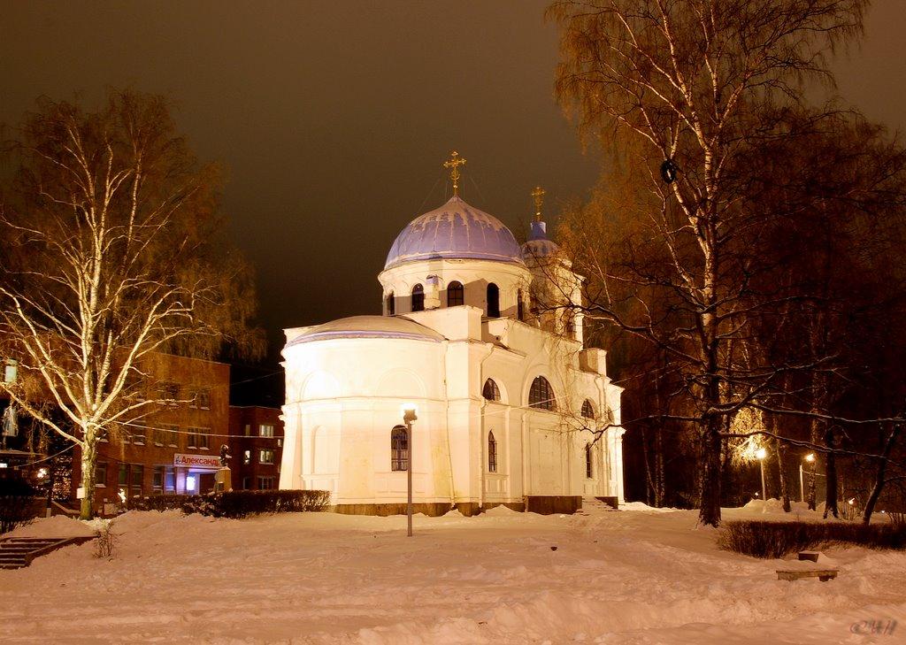 Приозерск. Церковь Рождества Пресвятой Богородицы, Приозерск