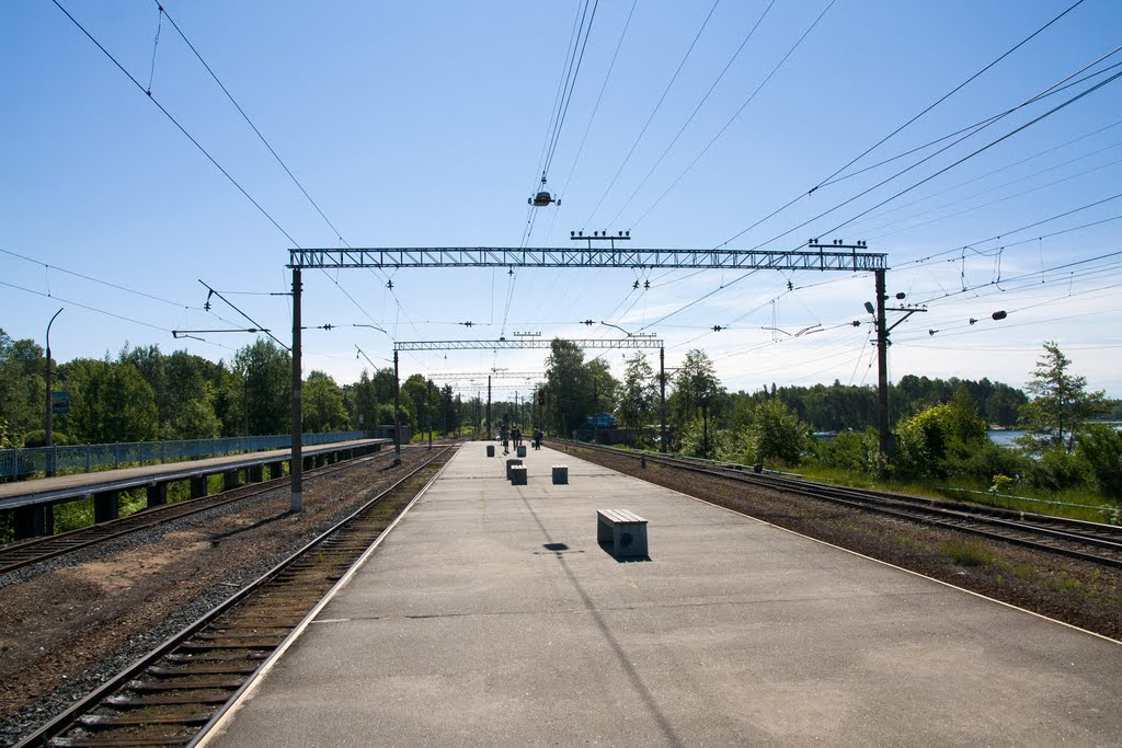 Платформа. Приозерск., Приозерск
