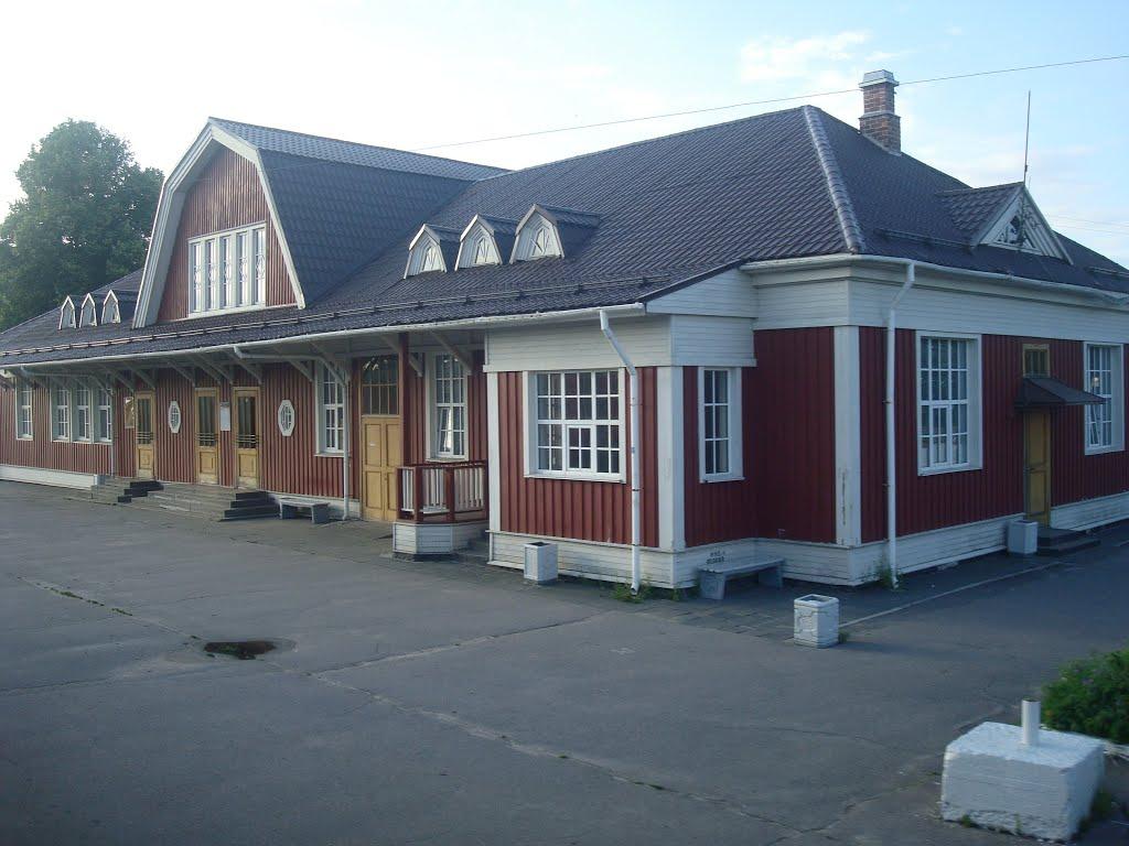 Станция Приозёрск, Приозерск