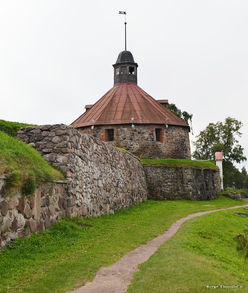 ЛЕНИНГРАДСКАЯ ОБЛАСТЬ (Приозерск). Крепость Корела. / Leningrad region (Priosersk). Korela Fortress., Приозерск