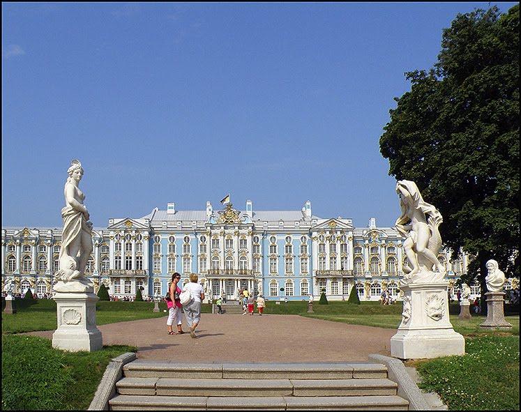 Katalin kastély, Пушкин