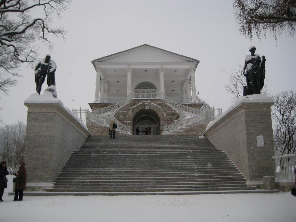 Пу́шкин - Екатерининский Парк - Камеронова галерея - Pushkin - Catherine Park - The Cameron Gallery, Пушкин