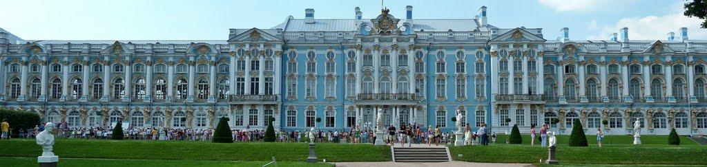 Barroco imperial ruso, el palacio de Catalina, Пушкин