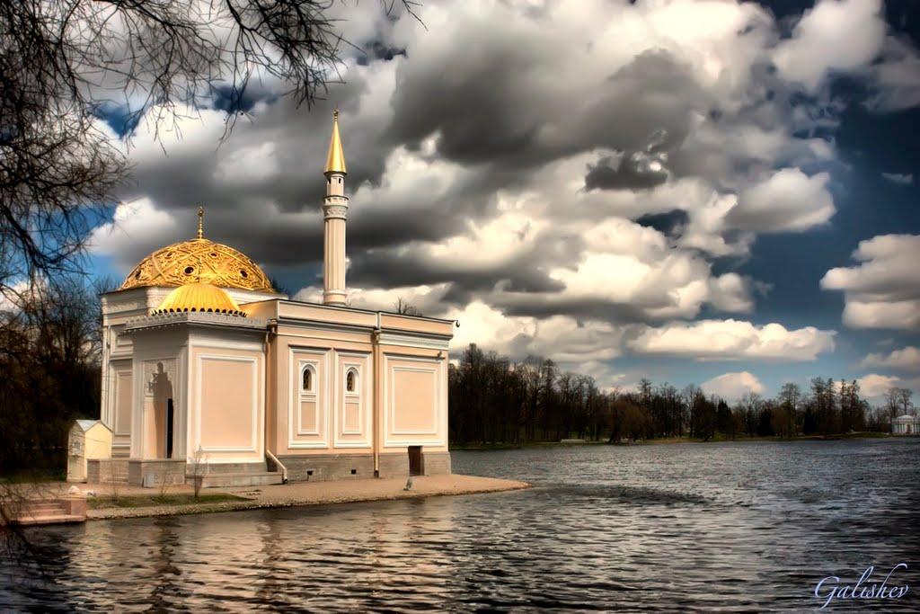 The Turkish Bath Pavilion (HDR) Pushkin, Пушкин