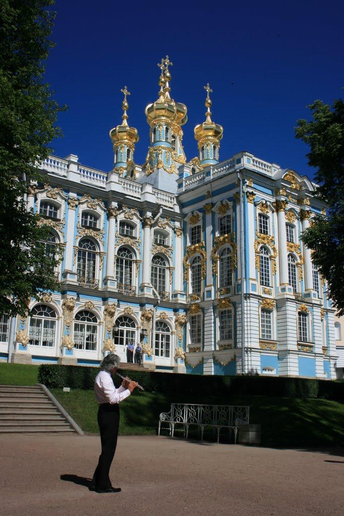 Carskie Siolo, Puszkin, Petersburg, Palac Katarzyny, Пушкин