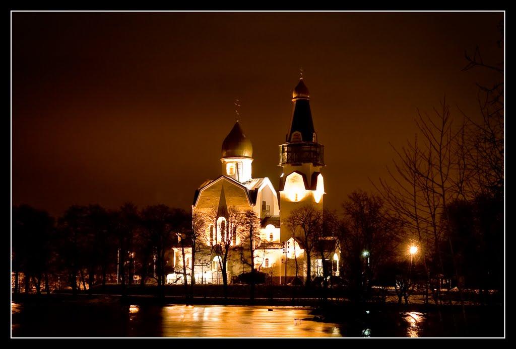 Church of Saints Peter and Paul, Sestroretsk, Razliv lake, Сестрорецк