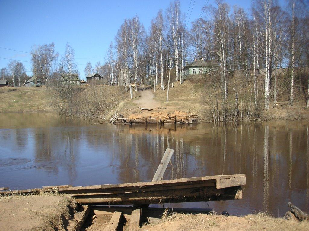 Here was a dam, Тихвин