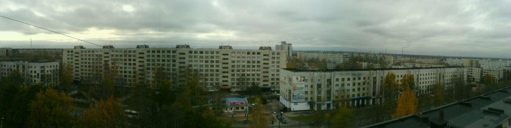 Вид с моего окна, Тихвин