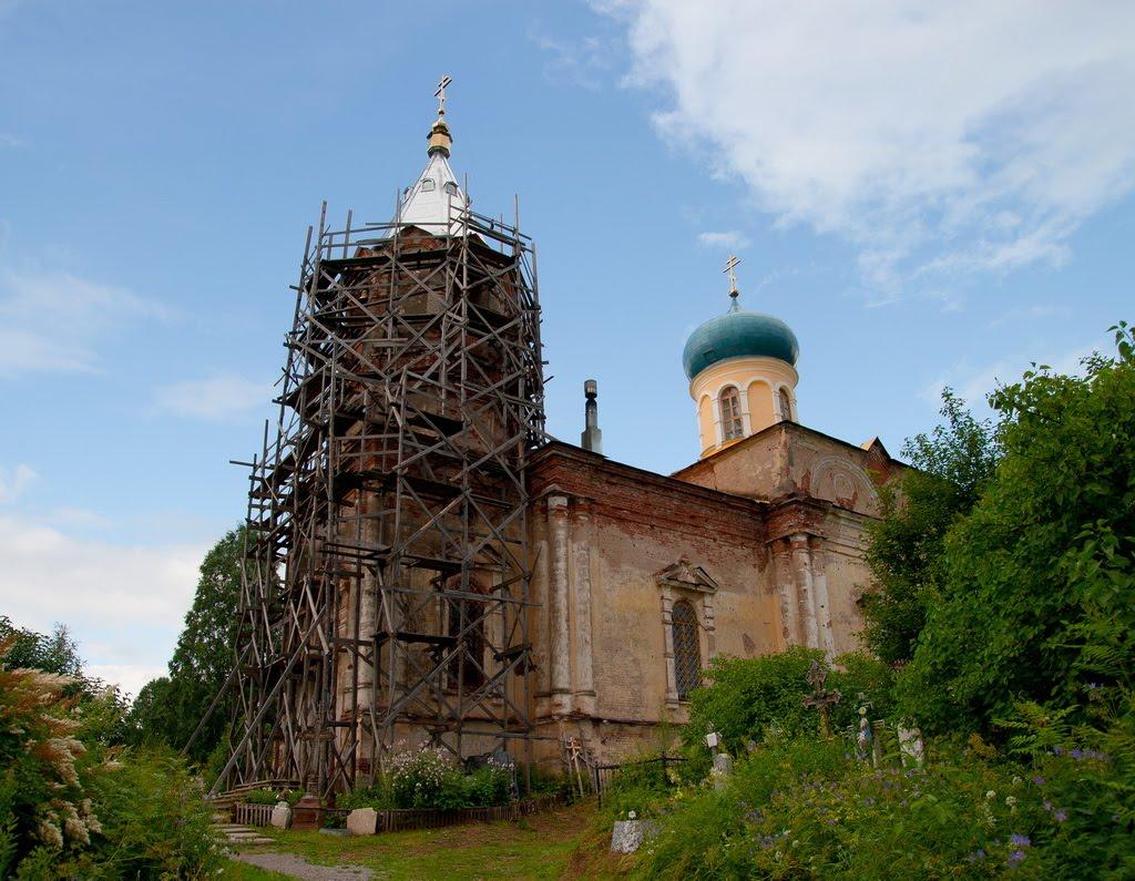 Церковь святого Иова, Тихвин