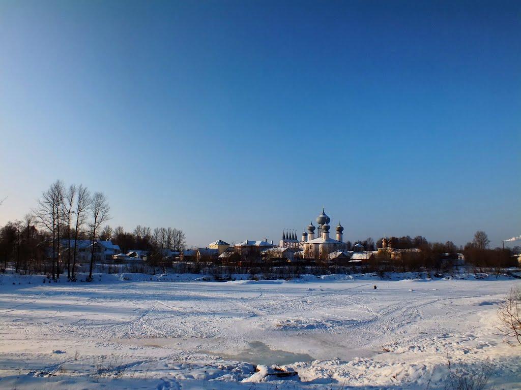 Тихвинский Богородичный Успенский мужской монастырь, Тихвин