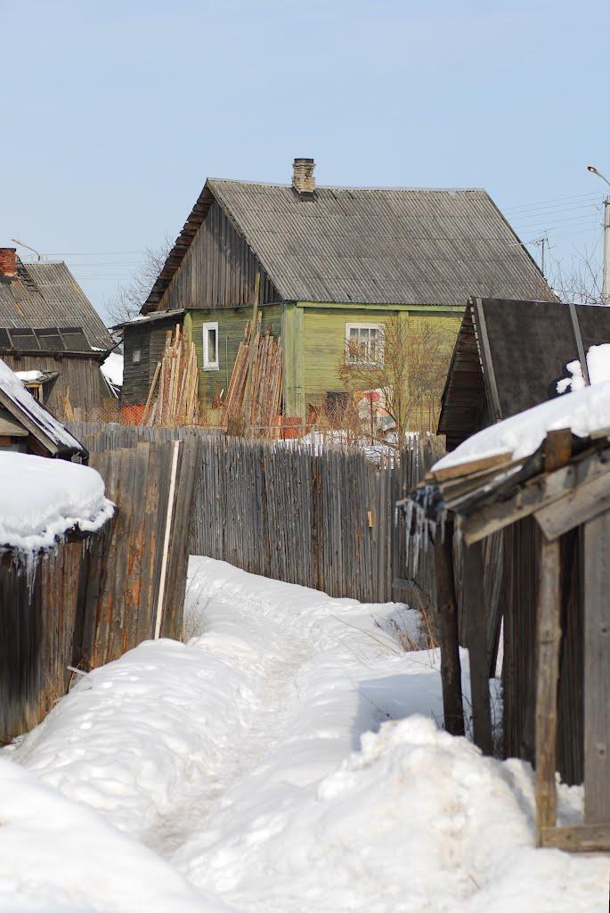 Деревня, Тихвин