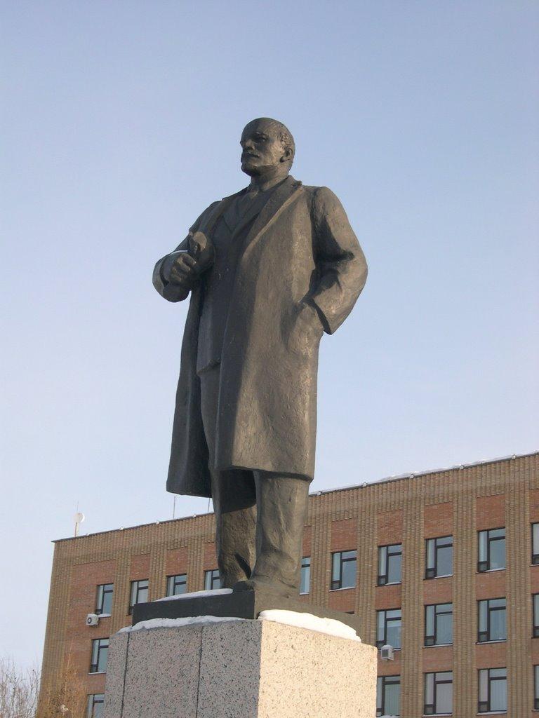 Ленин Салехарда, Салехард