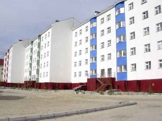 street Z.Kosmodemyanskoy - 45, Салехард