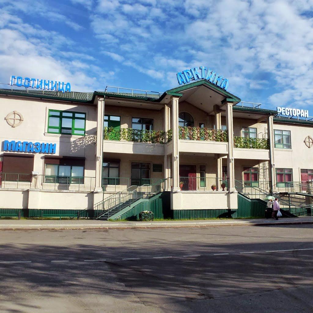 Гостиница «Арктика»,Салехард,  ул. Республики, 38, Салехард