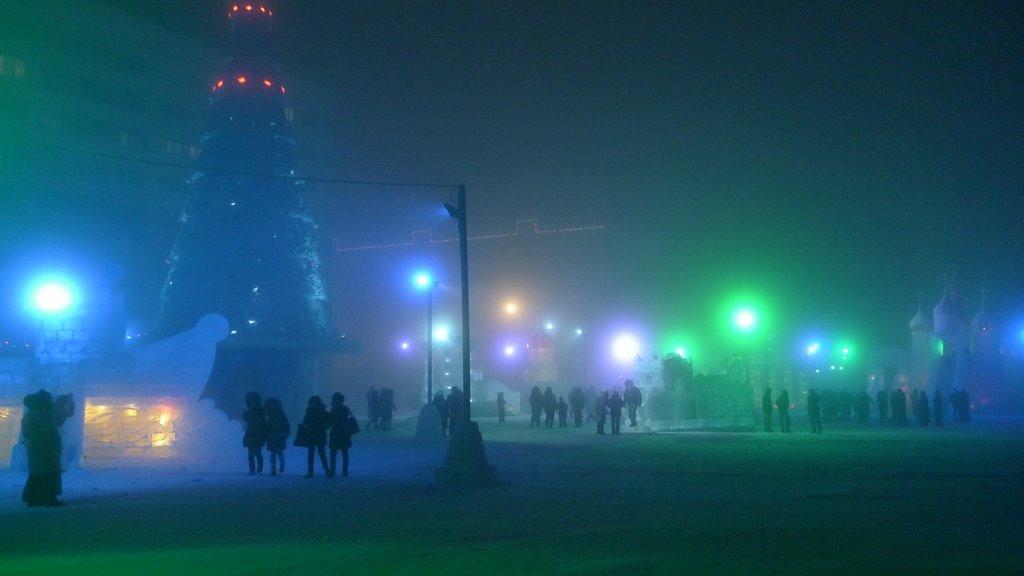 Новогодняя ночь, Новый Уренгой