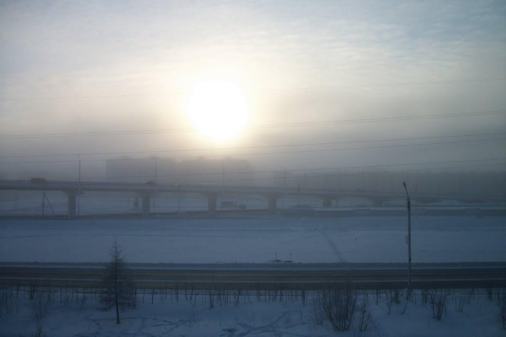 Январский мороз, Новый Уренгой
