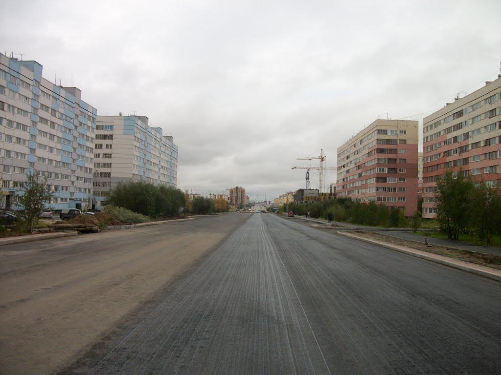 Ленинградский на ремонте -1, Новый Уренгой